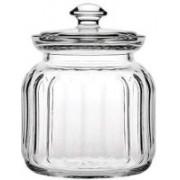Pasabahce Glass jar with Glass Lid | Airtight Glass jar |500Ml|Made in Turkey Mixer Jar Lid