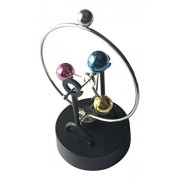 Lightahead Magnetic Swing Kinetic Art Balancing in Perpetual Motion Decoration for Home & Office (Balance Balls)