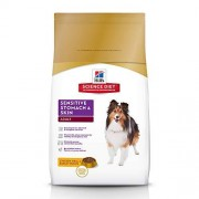 Hill's , Alimento Seco para Perro, Adult Sensitive Stomach & Skin, Sabor Chicken Meal & Barley, 1.8 kg