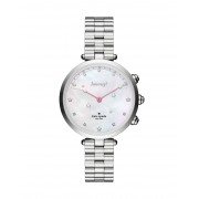 レディース KATE SPADE New York Holland Hybrid Smartwatch スマートウォッチ シルバー
