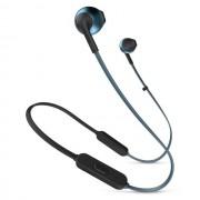 HEADPHONES, JBL T205BT, Bluetooth, Microphone, Син (JBLT205BTBLU)