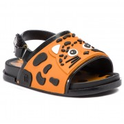 Сандали MELISSA - Mini Melissa Beach Slide Sanda 32448 Black/Orange/White 53456