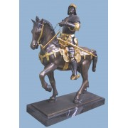 Bartolomeo Colleoni lovas szobra