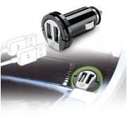 Interphone Cellularline USB Car Charger Dual Adaptador