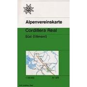 Wandelkaart 0/9 Alpenvereinskarte Bolivia: Cordillera Real Sud (Illimani) | Alpenverein