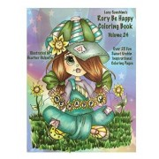 Lacy Sunshine's Rory Be Happy Coloring Book Volume 24: Big Eyed Sweet Urchin Inspirational Feel Good Coloring Book For Adults and Children, Paperback/Heather Valentin
