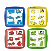Set de 4 puzzle educative - Miniland
