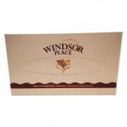 "Windsor Place Premium Facial Tissue, 2-Ply, White, 7 1/2"" X 8 1/5"", 100/box"