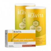 BEAVITA, Pack-satiété: 2 x Vitalkost + Gélules de satiété actives