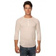 Royal Apparel Unisex Triblend 3/4 Sleeve Long Sleeved T Shirt Tri Oatmeal 20059