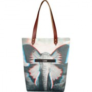 Anges Blur Blue Shoulder Bag