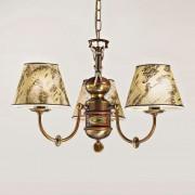 Impressive Nautica chandelier three-bulb