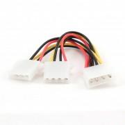 Cablu alimentare Molex - 2x Molex T/M Cablexpert CC-PSU-1 - 15cm