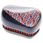 Cosmix Stores Tangle Remover Compact Styler Detangling Brush (British Flag Pattern)