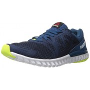 Reebok Men s Twistform Blaze 2.0 Mtm Running Shoe Noble Blue/Collegiate Navy/White/Solar Yellow 10 D(M) US