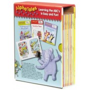 AlphaTales: A Set of 26 Irresistible Animal Storybooks That Build Phonemic Awareness & Teach Each Letter of the Alphabet [With Teacher's Guide], Paperback