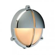Bullseye wandlamp Scheepslamp chroom 22.6cm