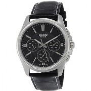 Casio Enticer Black Dial Mens Watch - Mtp-1375L-1Avdf (A838)