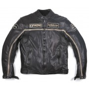 Helstons Daytona Rag Chaqueta de cuero Negro L