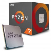 CPU AMD Ryzen 7-1700 (3GHz do 3.7GHz, 20MB (4MB+16MB), C/T: 8/16, AM4, cooler, 65W), 36mj