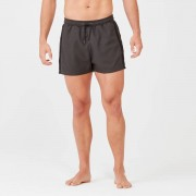 Myprotein Marina Swim Shorts - S - Dark Khaki/Black