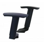 Karfa irodai székhez, állítható, fekete, MAYAH (BBSZVK02)