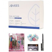Jovees Pearl Whitening Facial Value Kit (225 G) with Manicure-Pedicure Set Combo