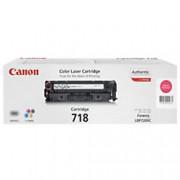 Canon 718M Original Toner Cartridge Magenta