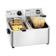 BARTSCHER Freidora eléctrica - 2 x 4 Litros - Snack II