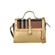 Exotic Women's Gold Shoulder Bag