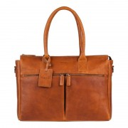 Burkely Antique Avery Laptopbag Cognac sen