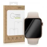 kalibri Tvrzené ochranné sklo pro Apple Watch 40mm (Series 4) - průhledná