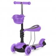 Trotineta Chipolino Kiddy purple