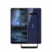 Folie protectie pentru Nokia 9 PureView din sticla securizata full size negru