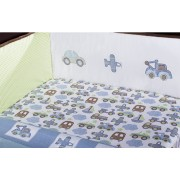 Kids Line Mosaic Transport Fitted Sheet