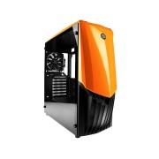 RaidMax Caja Gaming GAMA A18TO 12cm Ventilador Color Naranja USB 3.0