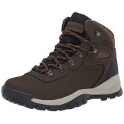 Columbia Newton Ridge Plus Bota de Senderismo para Mujer, Cordovan, Crown Jewel, 10 B(M) US