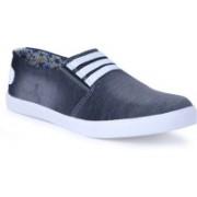 Shoe Bazzar Mens Black Denim Casual Shoes Casuals For Men(Black)