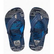 Reef Slippers Little Ahi Blauw