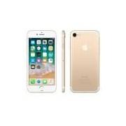 iPhone 7 Dourado com Tela de 4,7, 4G, 32 GB e Câmera de 12 MP