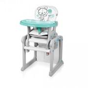 Candy 05 turquoise - scaun de masa multifunctional 2 in 1