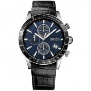 Hugo Boss 1513391 Rafale blu e nero in pelle Cronografo Orologio