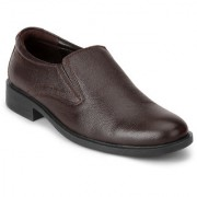 Red Chief Brown Men Slip On Formal Leather Shoes (RC3502 003)