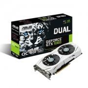 Placa video ASUS Dual GeForce GTX 1060 OC, 1594 (1809) MHz, 6GB GDDR5, 192-bit, DVI-D, 2x HDMI, 2x DP, DUAL-GTX1060-O6G