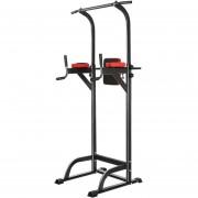 Maquina PRO Multifuncional de Dominadas – Barra Gym 20 En 1