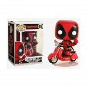 Funko Pop Deadpool on Scooter #48 Rides Marvel