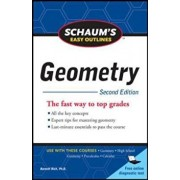 Schaum's Easy Outline of Geometry, Second Edition, Paperback/Barnett Rich