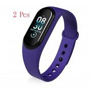 Reloj inteligente hombres mujeres android IOS monitor de ritmo cardíaco resistente al agua fitness