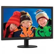"Monitor LED PHILIPS 233V5LSB/00, 23"" Full HD, negru"