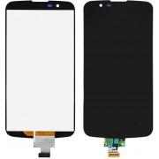 Дисплей + Тъч скрийн за LG K10 K420N Черен